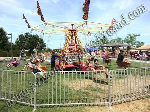rent a carnival swing ride in Colorado