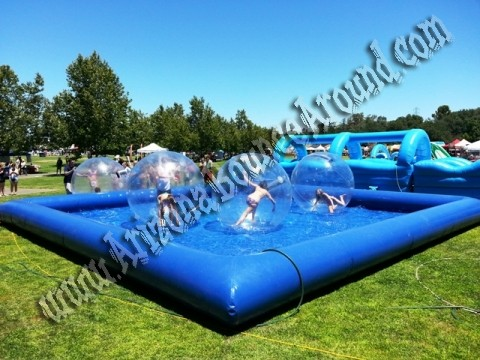 Water walking ball rental Denver, Colorado