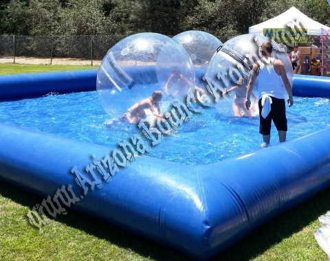 Water walking ball rentals, Colorado