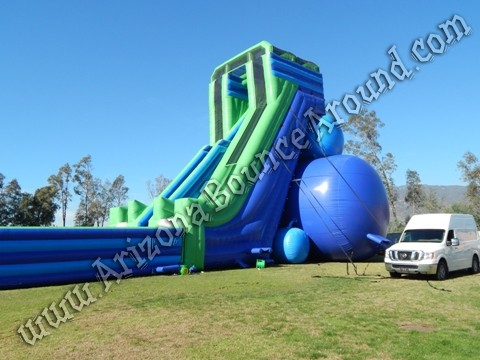 worlds tallest inflatable water slide for rent in California
