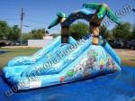 Dual lane toddler water slide rental for small kids Denver, Colorado Springs, Aurora, Fort Collins Colorado
