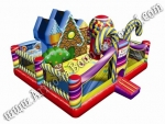 Inflatable Candy Land Playland Rentals in Denver Colorado