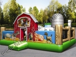 Farm themed Bounce house Rental Denver Colorado
