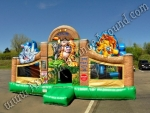 Zoo Themed bounce house Rental Fort Collins CO