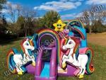 Unicorn Inflatable Playland Rental Denver Colorado