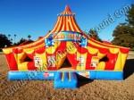 Circus themed bounce house rentals in Denver, Colorado