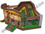 Western village 20 x 20 Bounce House Rental Denver Colorado