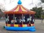 Carousel Bounce House rental Denver CO