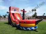 Pirate themed water slide rental Denver