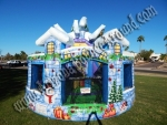 Christmas themed Bounce House Rental Denver