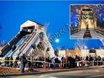 31' Tall Dual Lane Alpine Slide - Snowzilla Slide Rental Denver Colorado