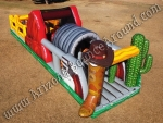 Western themed Inflatable rental Denver Colorado