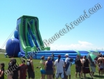 Giant water slides for festivals and events