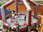 Ninja Warrior Wrecking Ball Game Rental Denver Colorado