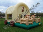 Cowboy Western Themed Bounce House Denver