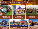 Spring and Fall carnival party Party Package rentals in Denver Colorado