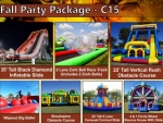 Spring or Fall carnival rental Party Package C15 Denver Colorado