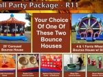 Spring and Fall Carnival themed Party Package for around $1800.00
