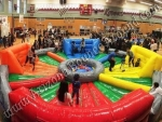 Hungry Hippo Inflatable game Rental Denver Colorado
