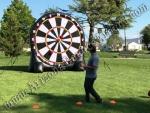 Inflatable foot darts game rental Denver Colorado