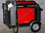 Honda EU6500is generator rental Denver