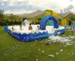 Inflatable foam pit rental Denver, Colorado Springs, Aurora, Fort Collins - Colorado