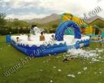 Inflatable foam pit rental Denver, Colorado Springs, Aurora, Fort Collins - Colorado