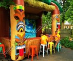 Tiki Bar Rental, Rent Tiki Huts, Luau Furniture, Denver, Colorado Springs, Aurora, Fort Collins, Colorado