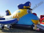 airplane bounce house rental Denver