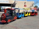 Gas Powered Trackless Train Rental Denver, Colorado