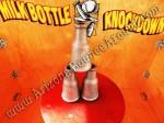 Milk Bottle Knockdown Carnival Game Rental CO