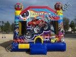 Monster truck race car Bounce House rental Colorado Springs CO