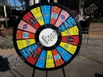 Prize Wheels for rent in Denver, Colorado Springs, Aurora or Fort Collins, Rent a prize wheel CO