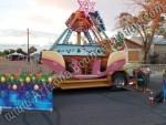 Rocking Santa Sleigh Rental Denver Colorado