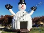 Inflatable Snowman Bounce House Rental Colorado Springs Colorado