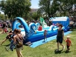 Inflatable Slip n Slide rentals Denver CO, rent a slip n slide