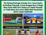 Racing games and activities for parties and events in Denver Colorado
