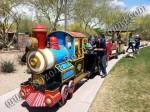 Colorado trackless train rentals