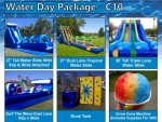 Water Day Party Package C10 from Gravity Play Events