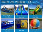 Water Day Party Package C11 $2,385.95