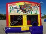 Western Cowboy Cowgirl Bounce House Rentals CO