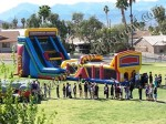 Inflatabel obstacle course for company parties Colorado